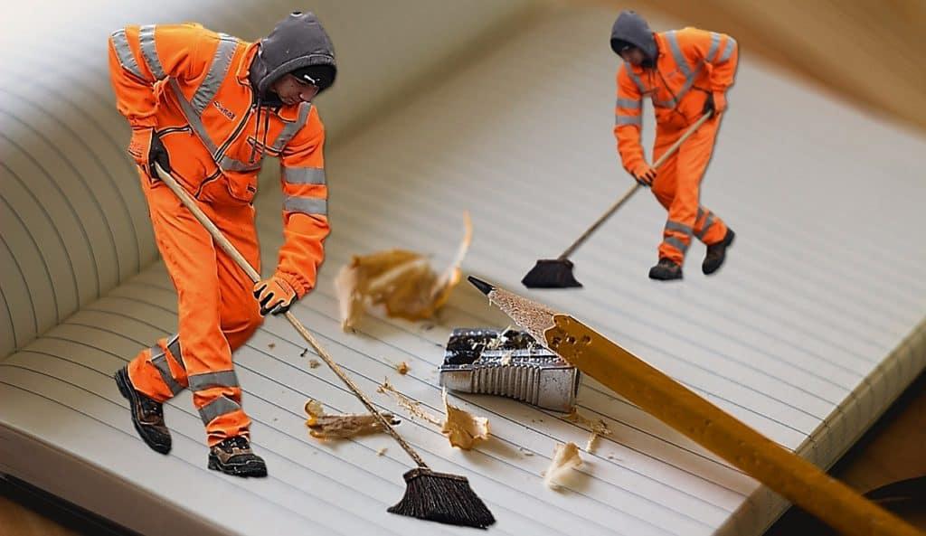 Nettoyer après un déménagement