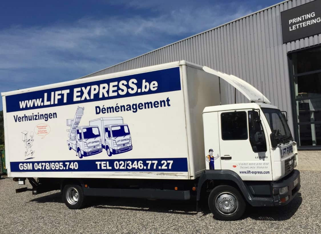 Camion Lift Express - Localift