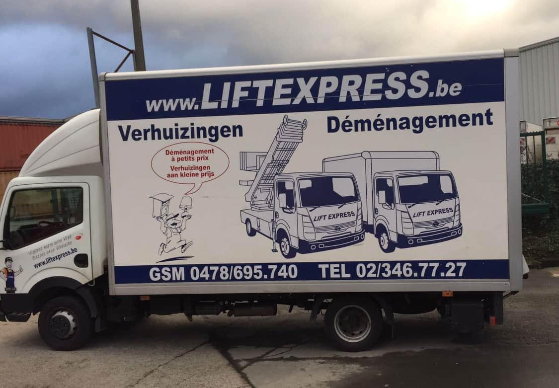 Lift Express pour votre déménagement