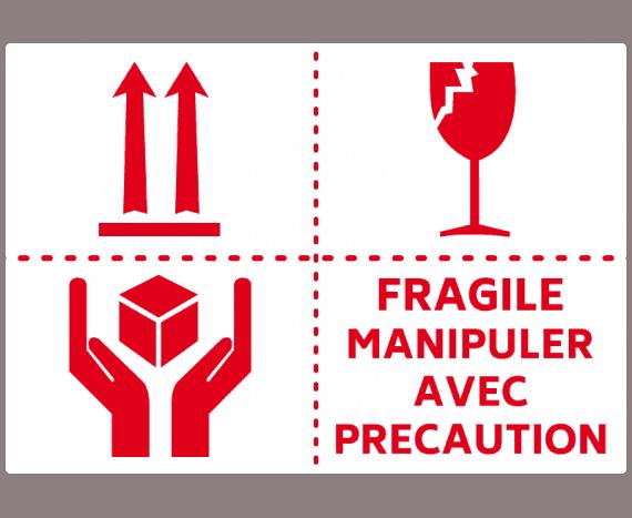 Déménager les objets fragiles